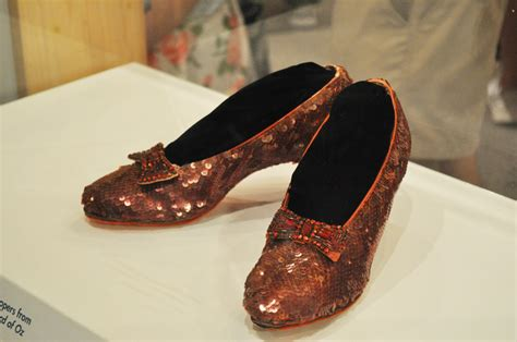 wizard of oz slippers smithsonian crowdfunding 300 000 to save dorothy s ruby slippers business insider