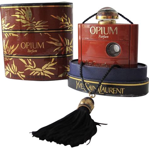 Parfum Original Reject Opium Yves Laurent boxed commercial perfume bottle opium parfum by yves laurent from timeinabottle on ruby