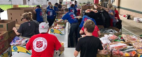 Food Pantry Clearwater Fl by The Salvation Army Clearwater Volunteer The Salvation Army
