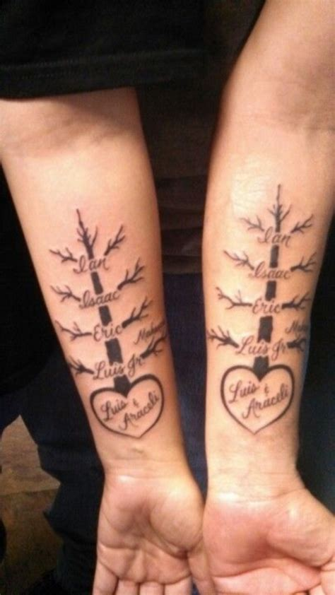 small family tree tattoo designs designs names pictures to pin on tattooskid