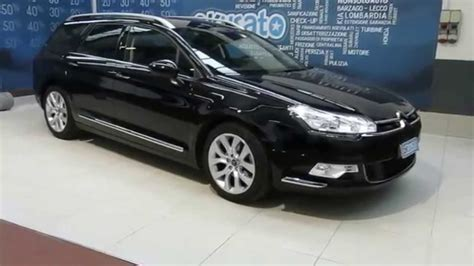 citroen c5 interni citroen c5 tourer station wagon 2 0 hdi 160cv executive