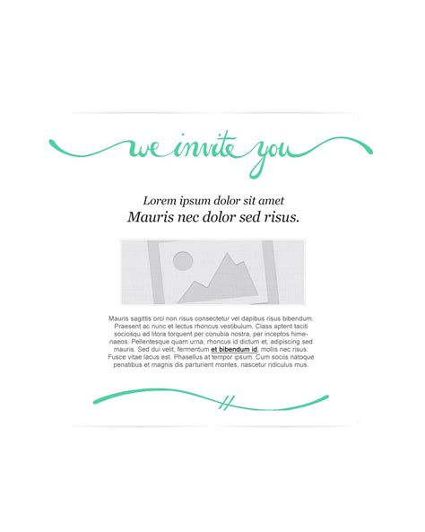 free invitation email templates inc
