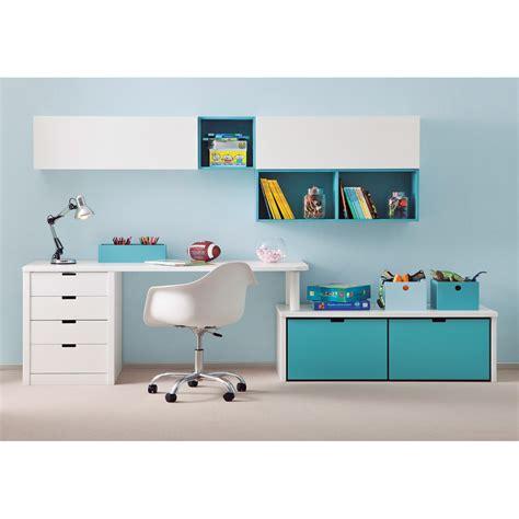 bureau enfant avec rangement bureau complet pour enfants juniors avec divers rangements