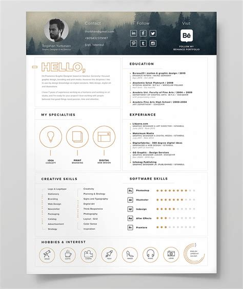 resume design magazine layout now just go find your job 10 fresh free resume cv design templates 2018 in word