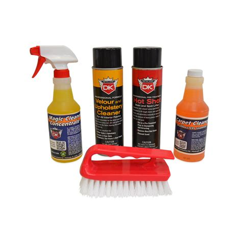 Car Upholstery Stain Remover by Carpet Upholstery Stain Remover Value Kit