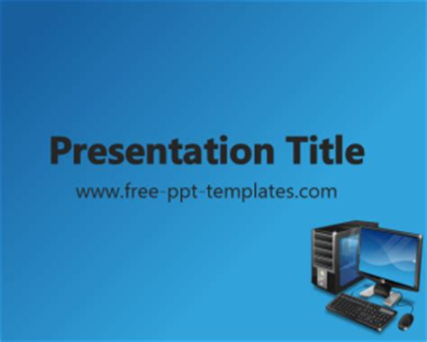 free computer powerpoint templates computer ppt template free powerpoint templates