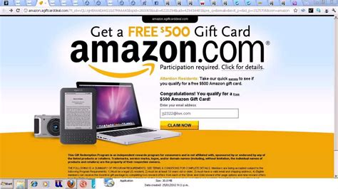 How Do I Get A Amazon Gift Card - how to get amazon 500 gift card youtube