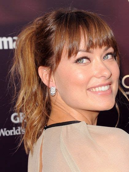ponytail hairstyles for square face 175 best images about best bangs on pinterest