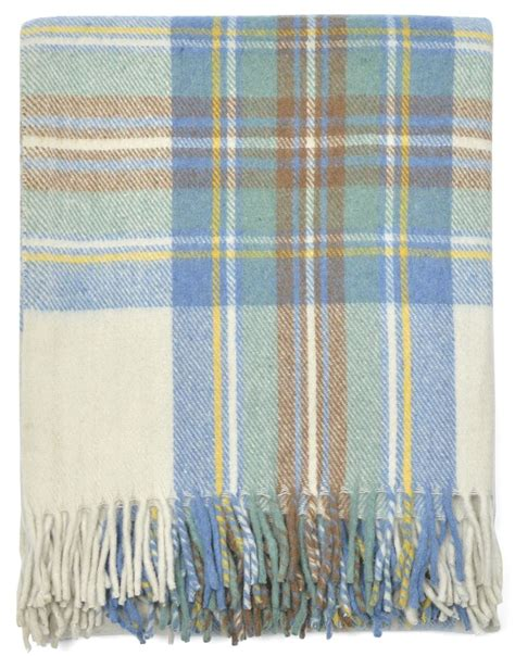 Scottish Cushions Throws And Rugs by New Scottish Wool Tartan Blanket Throw Rug Gift