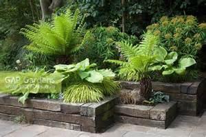 Home Design Ideas Sri Lanka Gap Gardens Green And Yellow Border In Railway Sleeper
