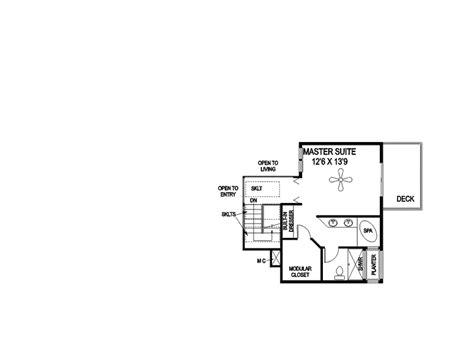 Tri Level Floor Plans by Castlewood Creek Tri Level Home Plan 085d 0840 House