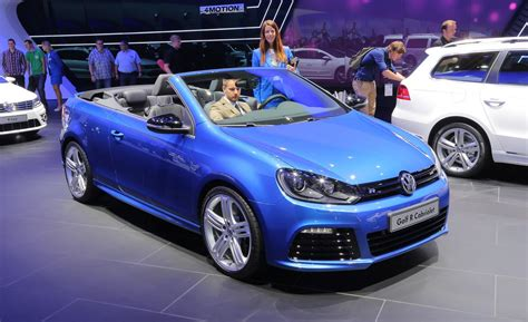 volkswagen golf r convertible car and driver