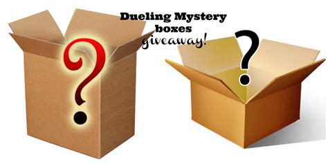 Giveaway Boxes - giveaway dueling mystery box giveaway two boxes of surprises plus one has a gift