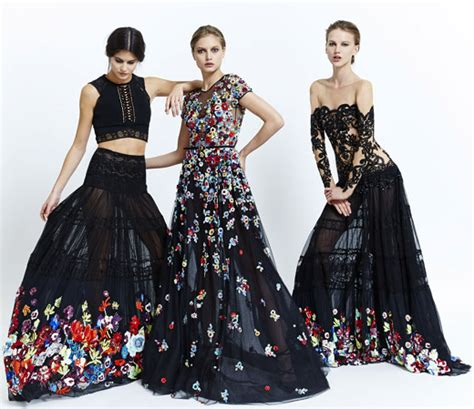 Dress Fiolka zuhair murad summer 2015 ready to wear collection
