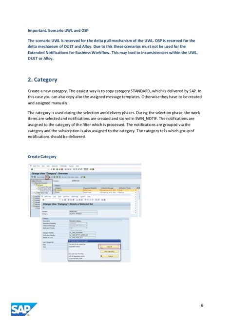 sap business workflow extended notifications for sap business workflow