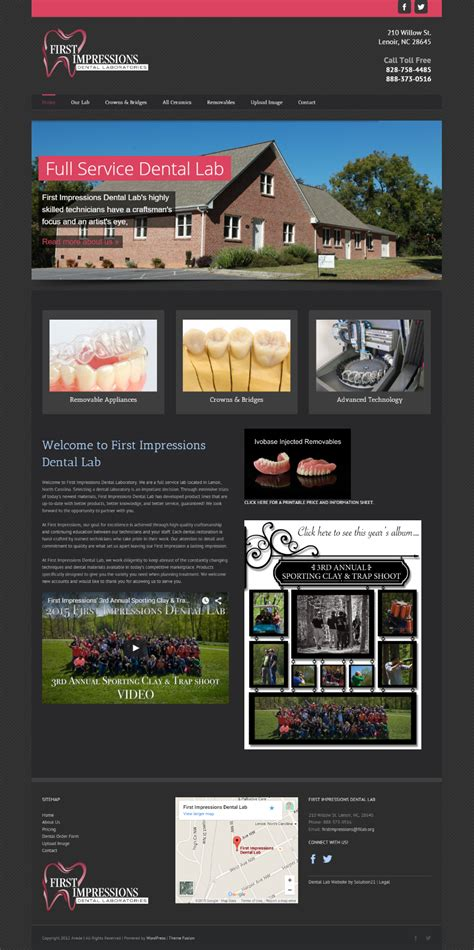 design lab gardena dental website design for dentists solution21