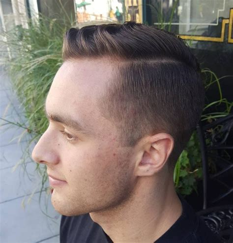 long fade with combover 60 sizzling tape up haircut ideas get your fade in 2018