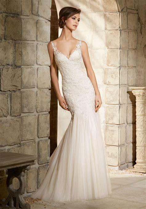 appliques for dresses embroidered appliqu 233 s on soft net morilee bridal wedding
