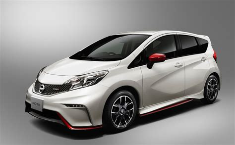 nissan note nissan note nismo makes compact crazy slashgear