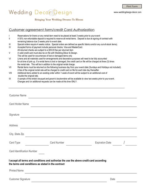 Decorating Contract Template Qualads