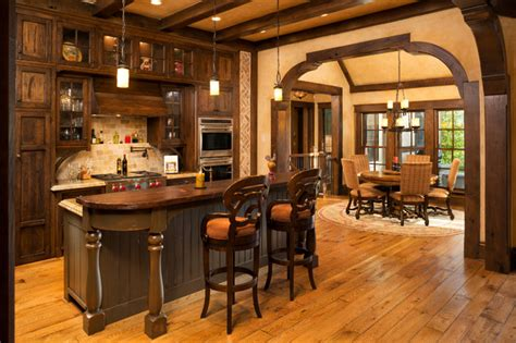 Kitchen Cabinet Island Design Ideas elegant english country home traditional kitchen