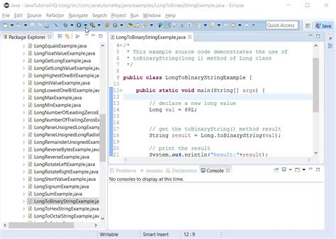 binary pattern in java java exle