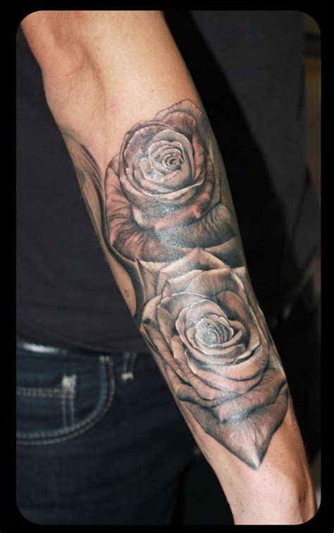 roses tattoo tatus by gabika pinterest