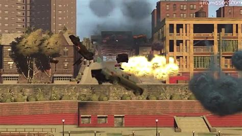 busted mp gta eflc pc online multiplayer stunt montage wit