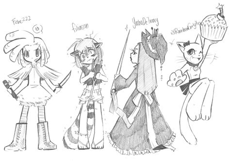 Free Sweepstakes 2014 - free oc giveaway 2014 4 by brokendeathangel on deviantart