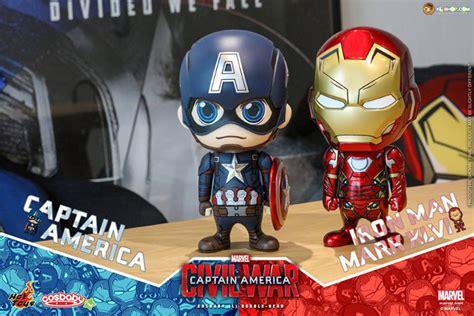 Figure Cosb Aby Cosb 253 Captain America Civil War Black Panther toys cosb323 captain america civil war captain america cosbaby l bobble