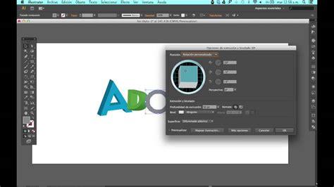 como hacer un pattern brush en illustrator como crear texto 3d en adobe illustrator youtube
