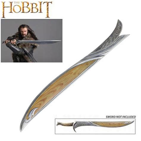 wooden orcrist glamdring swords from the hobbit