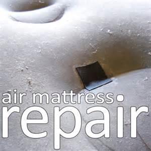 air mattress repair