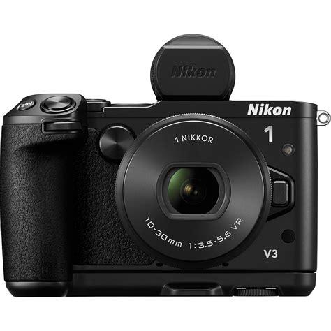 mirrorless nikon nikon 1 v3 mirrorless digital with 10 30mm lens