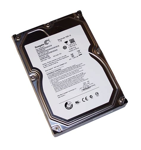 Seagate 1tb 7200 12 seagate st31000524as barracuda 7200 12 1tb sata 3 5