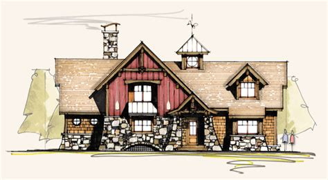 Pintail Timber Frame Homes Rustic Home Plans Moss Creek Timber Frame House Plans
