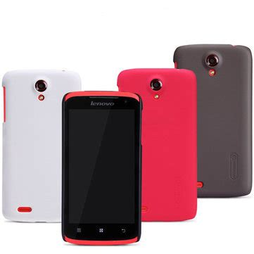 Sarung Nillkin Leather Lenovo S820 nillkin frosted shield with srceen protector for