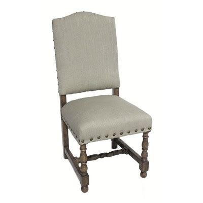 Harris Furniture by Harris Furniture 635 J77 White Fabric Side Chair