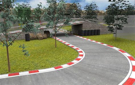 Track Racing Arena Jalanan Track 2 Jalanan racetrack circuit 3d model cgtrader