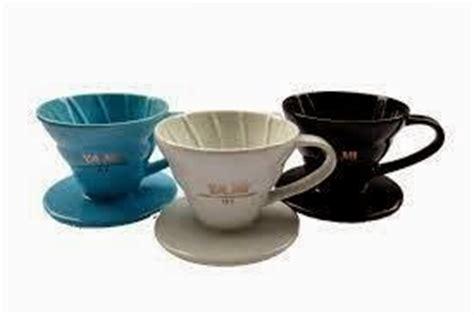 Tiamo Dripper V60 Ceramic 02 Gelas Pour Keramik Hg5544y Yellow cara menyeduh kopi atau brewing