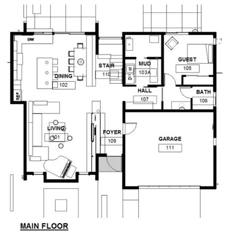 architecture floor plan green concept home modus v studio architects archdaily