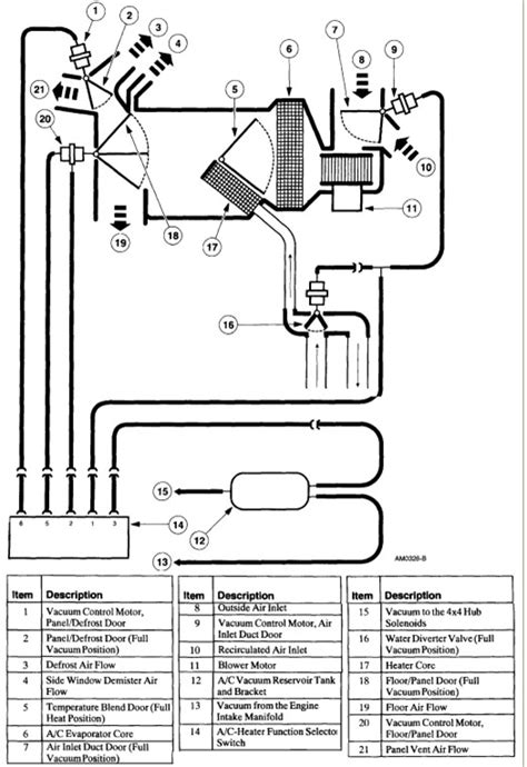 2000 ford ranger parts diagram 5 best images of ford ranger vacuum lines diagram 2005