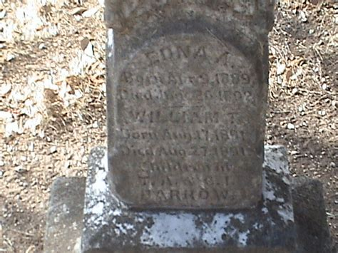 Mclennan County Marriage Records Edna A Barrow 1889 1892 Find A Grave Memorial