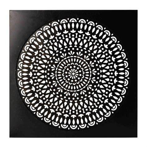 agréable Deco Campagne Chic Chambre #2: deco-murale-en-metal-noire-110-x-110-cm-essaouira-1000-1-10-154990_1.jpg