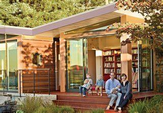 modern prefab addition   mid century california