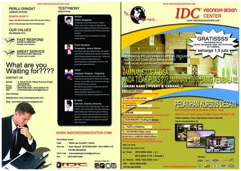 lowongan kerja desain surabaya 2015 brosur