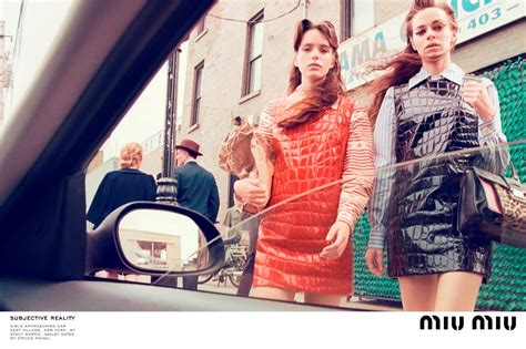 Miu Miu Ad Caign Flashback Drew Barrymore by Blood Actresses Kill It In New Miu Miu Caign Dazed