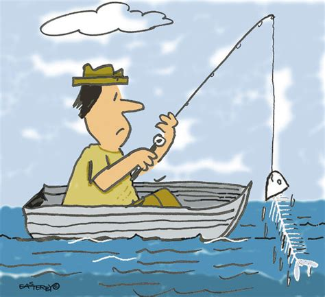 fishing boat cartoon pictures gone fishing by easterby philosophy cartoon toonpool