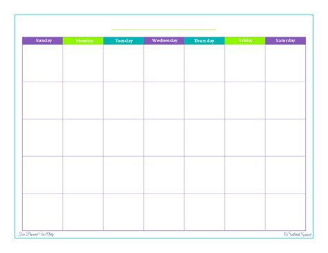 printable blank monthly planner search results for blank printable monthly calendar