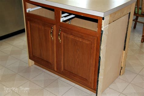 kitchen island makeover how to kitchen island makeover tempting thyme